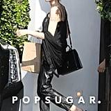 Angelina Jolie Leather Pants