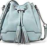 Rebecca Minkoff Micro Lexi leather bucket bag ($195)