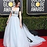 Alison Brie Golden Globes Beauty Look