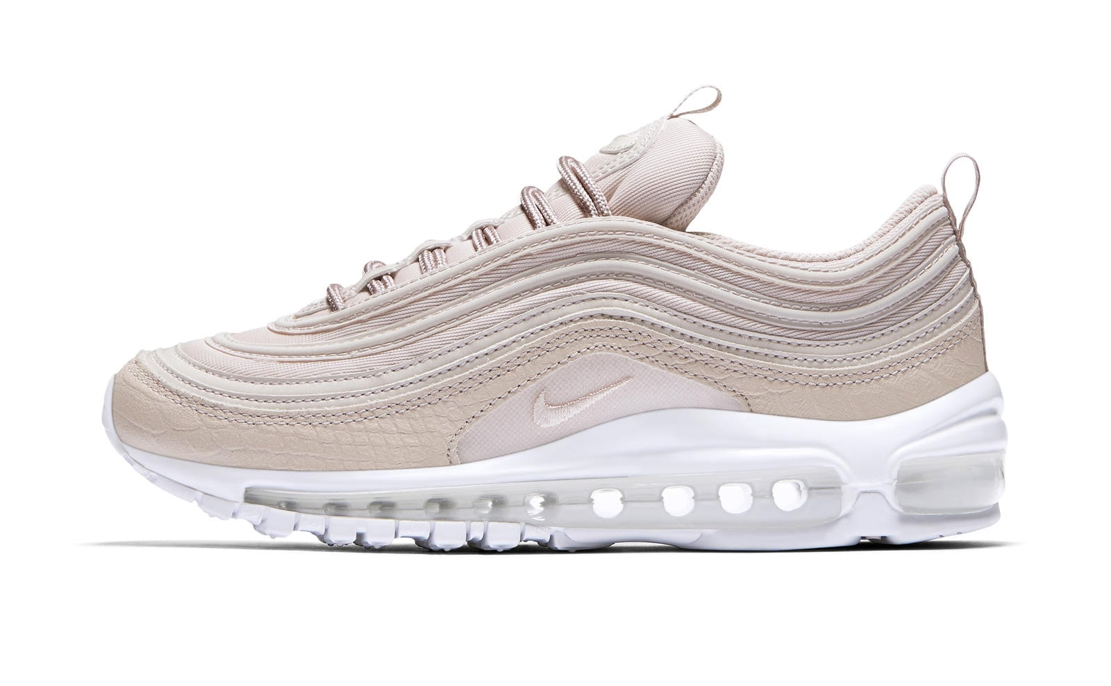nike air max 97 white and pink
