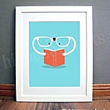 Reading Glasses Print ($25)