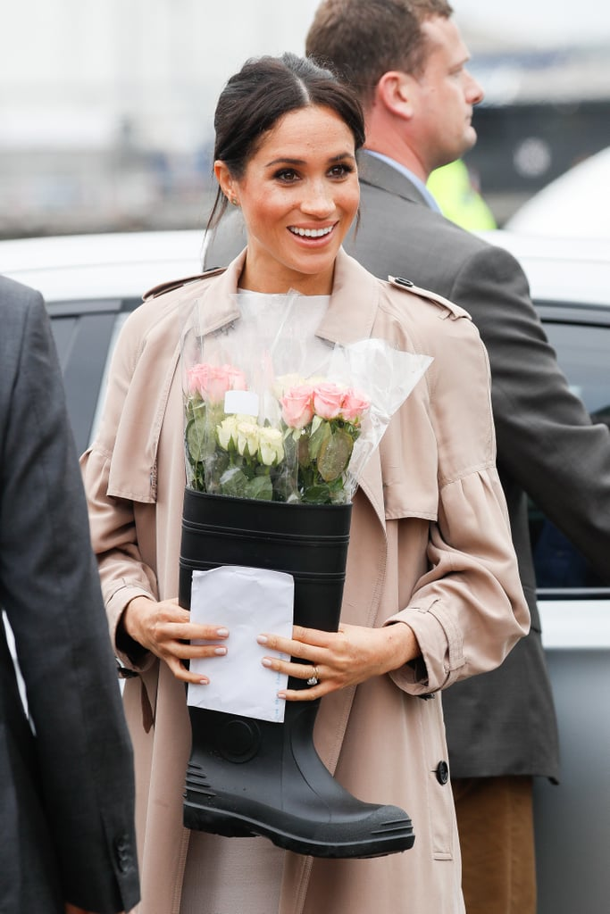 Meghan Markle Blossoms in Kindness and Gives Floral Displays From Her Baby Shower to Charity