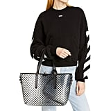 Off-White Net PVC Shopper