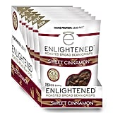 Enlightened Plant Protein Gluten Free Roasted Broad (Fava) Bean Snack, Sweet Cinnamon