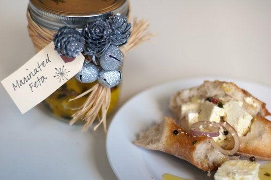 Marinated Feta Cheese With Oregano