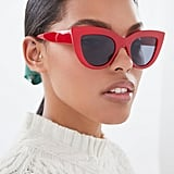 Sabrina Oversized Cat-Eye Sunglasses