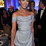 Kate Beckinsale wore a gown to the Costume Designers Guild Awards.
