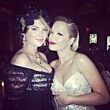Kate Upton and Rita Ora had fun. Source: Instagram user ritaora