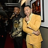 Pictured: Jamie Foxx and John Legend