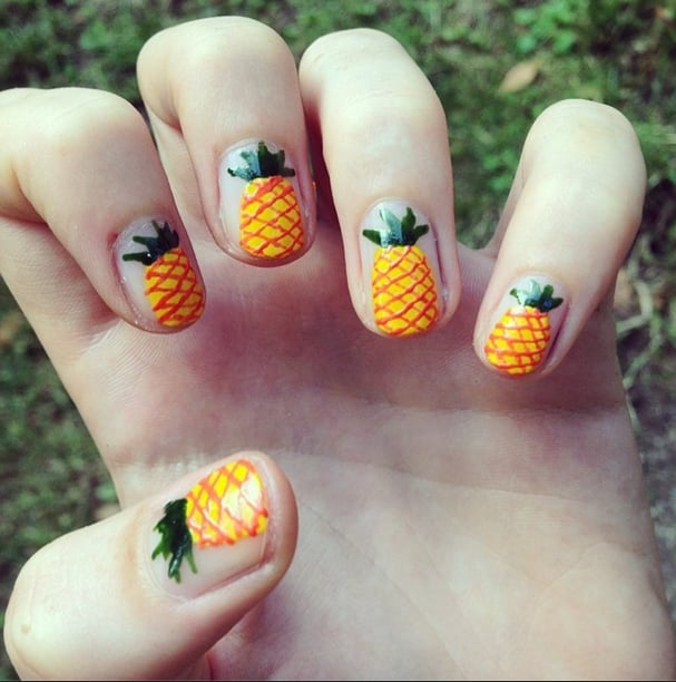 Best Summer 2014 Nail Art Of Instagram Popsugar Beauty