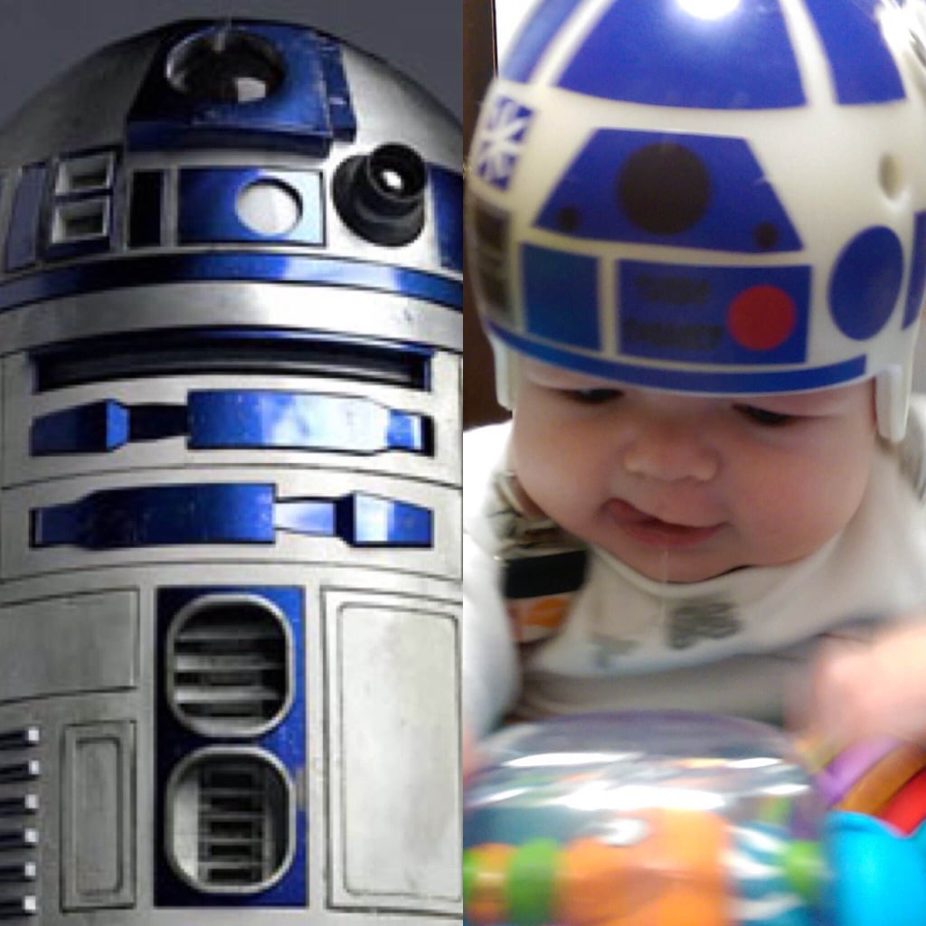 Jack's First Helmet: R2-D2