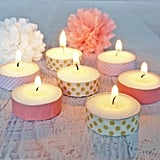 Washi Votive Candles