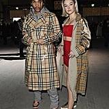Luka Sabbat and Sarah Snyder