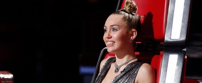 Miley Cyrus's Sparkly Party Dress Comes With a Shiny Bow