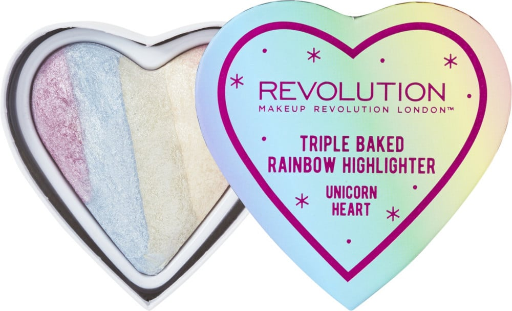 heart-shaped compact from Makeup Revolution
