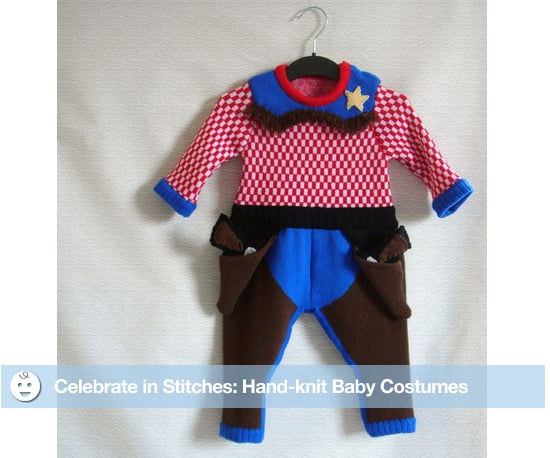 Hand-knit Baby Costumes For Halloween