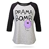 Drama Bomb Raglan Tee