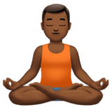 Man in Lotus Position
