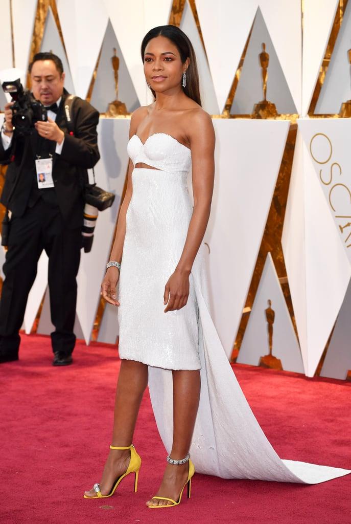 Naomie Harris in Calvin Klein at the 2017 Oscars