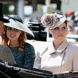 Princess Beatrice and Princess Eugenie, Royal Ascot 2014