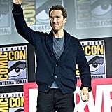 Pictured: Benedict Cumberbatch at San Diego Comic-Con.