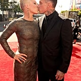 Pink and Carey Hart, 2012