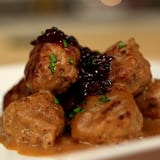 Swedish Meatballs With Lingonberry Jam