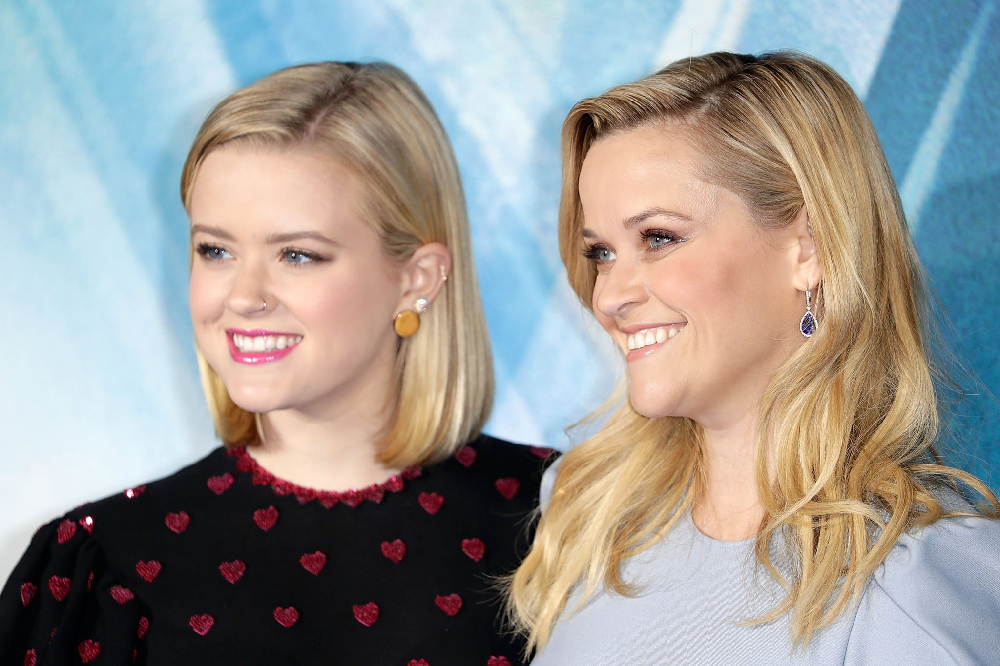 LONDON, ENGLAND - MARCH 13:  Reese Witherspoon (R) and Ava Phillippe attend the European Premiere of 'A Wrinkle In Time' at BFI IMAX on March 13, 2018 in London, England.  (Photo by John Phillips/John Phillips/Getty Images)