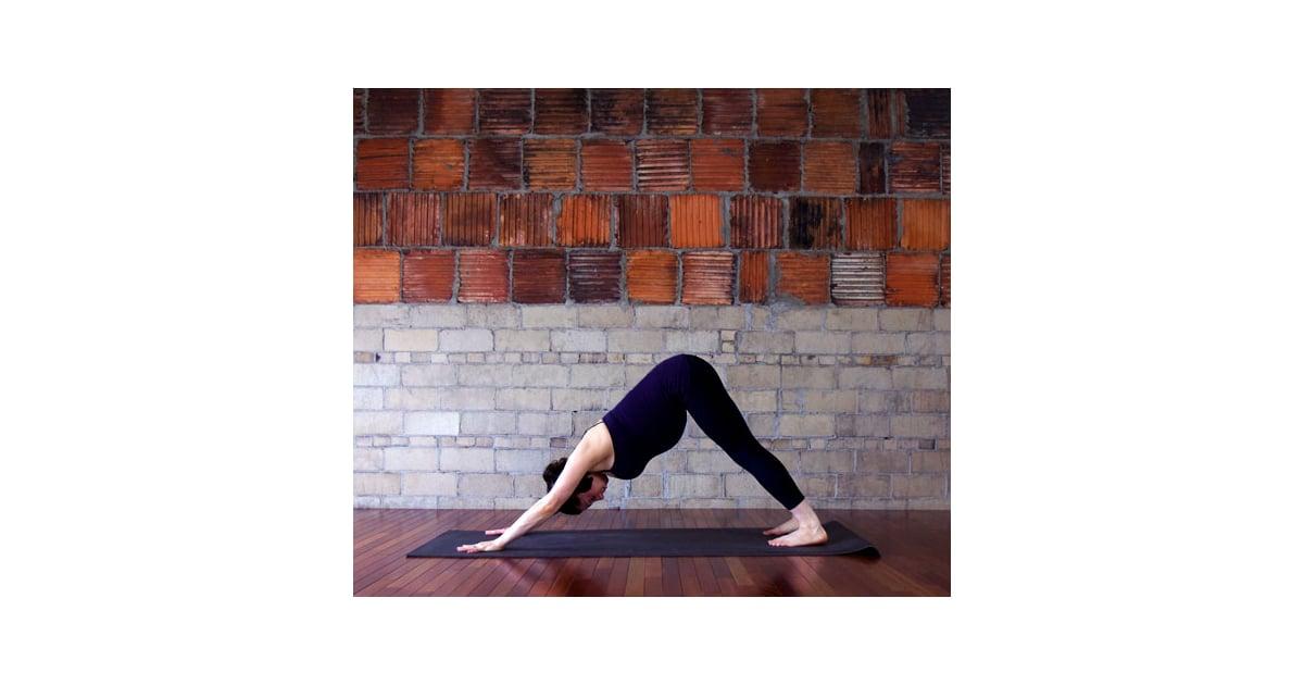 Downward Facing Dog   Prenatal Yoga Sequence For Tight ...