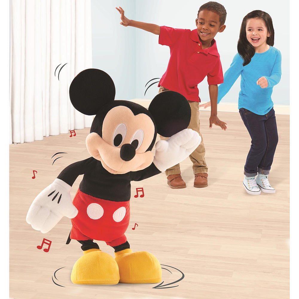 Hot Diggity Dancing Mickey Plush