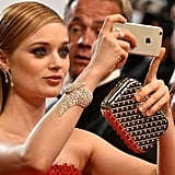 Bella Heathcote Snapped a Photo, Showing Off Her Stunning Diamonds