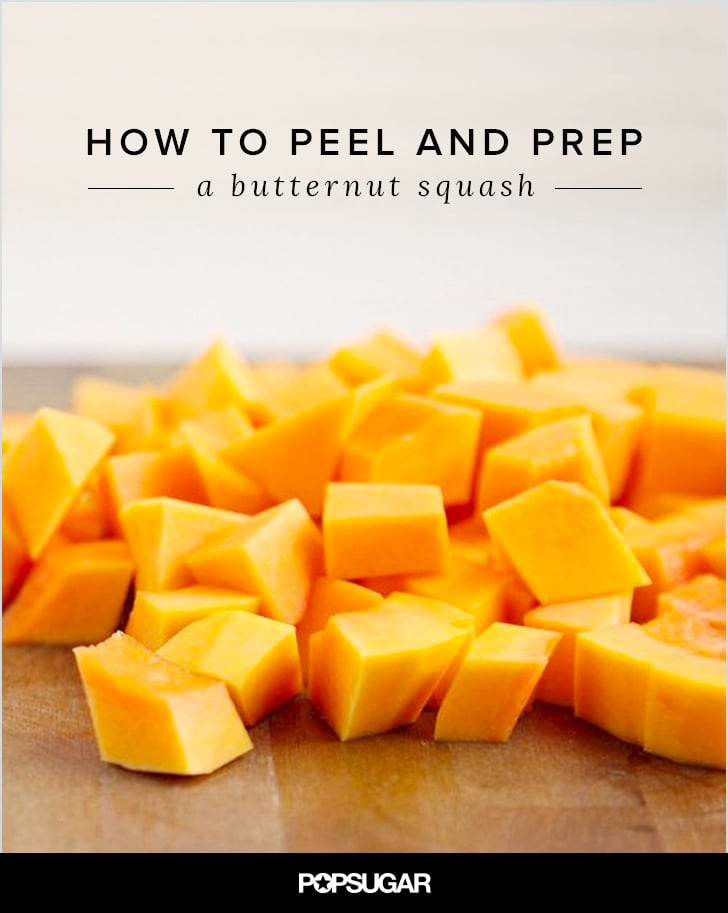 How to Peel a Butternut Squash