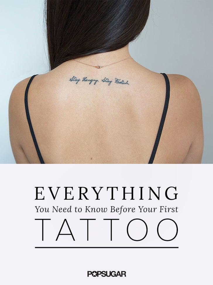 Tout ce Qu'il Faut Savoir Avant de Se Faire Faire un Tatouage