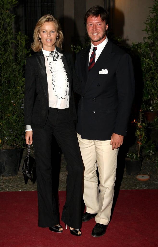 Eva Herzigova and boyfriend Gregorio Marsiaj