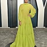 Maria Sharapova at the Vanity Fair Oscars Afterparty 2020