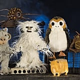 These stuffed creatures can be found at The Creature Stall.