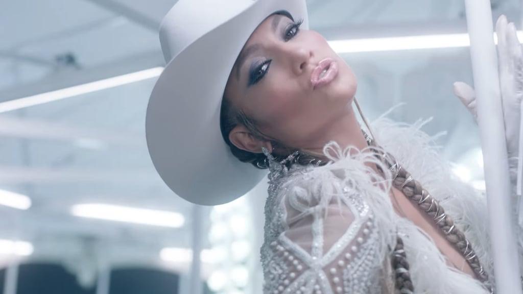 Jennifer Lopez Medicine Hair and Makeup Looks