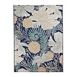 Painted Floral Rug