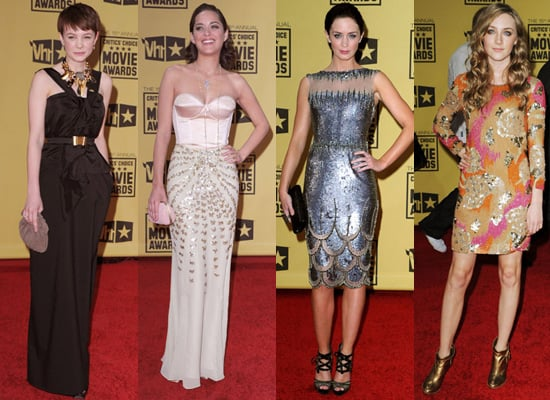 Red Carpet Photos of European Actors at the 2010 Critics Choice Awards
