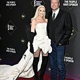 """Gwen Stefani's White Vera Wang Dress Says """"Fashion Icon"""""""