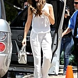 When in doubt, reach for all white. Looking through some of her best outfits, it's clear that Kate favors this monochromatic look and tends to reach for flowy basics that'd be comfortable on.