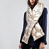 ASOS Metallic Quilted Long Scarf (£18)