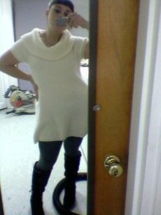 Shirts can be dresses on short people!