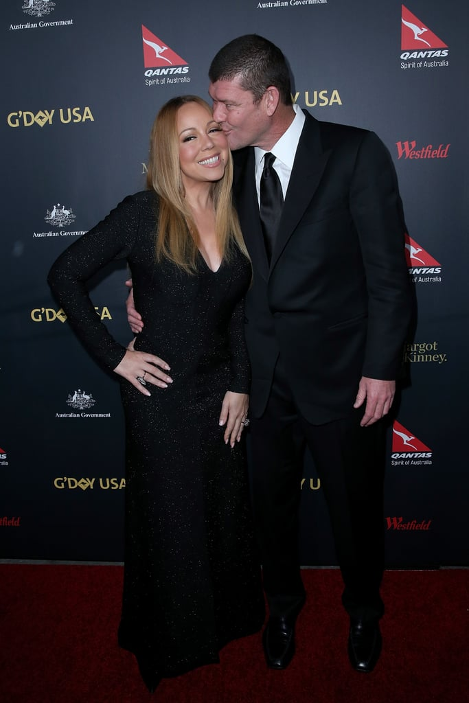Mariah Carey and James Packer Make Their First Red Carpet Appearance as an Engaged Couple