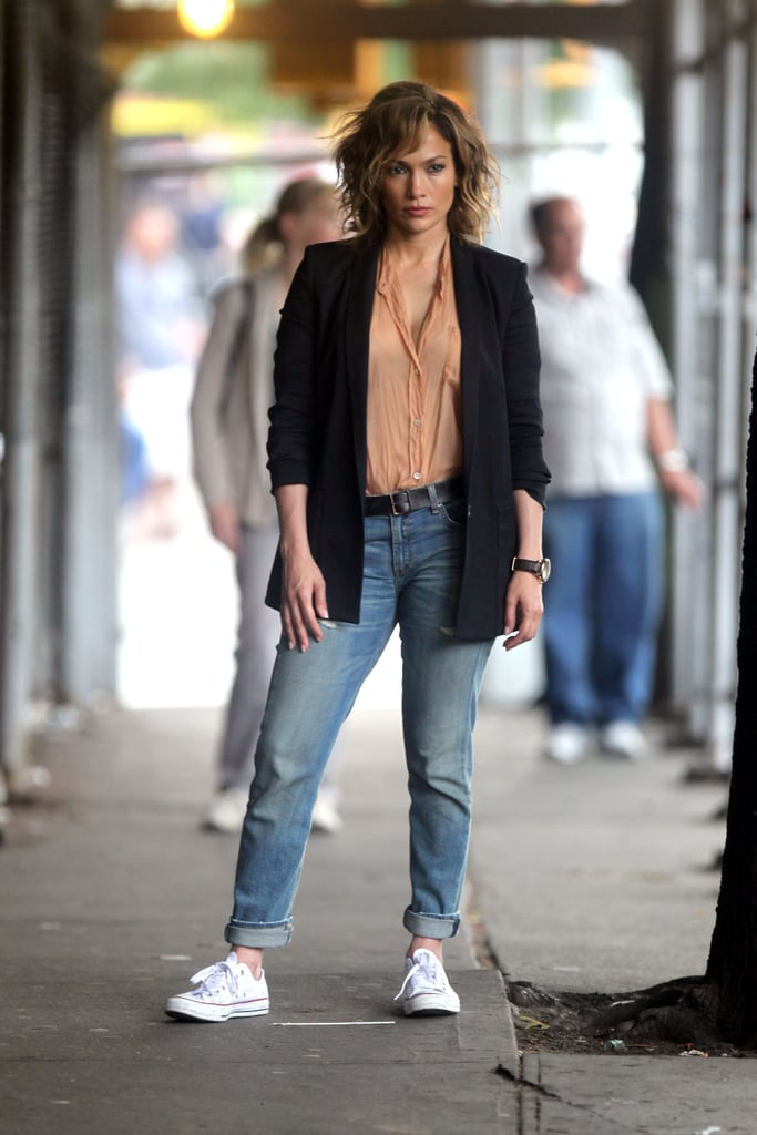 Jennifer Lopez 39 S Shades Of Blue Style Popsugar Latina