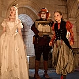 The White Queen, the Mad Hatter, and Alice From Alice Through the Looking Glass