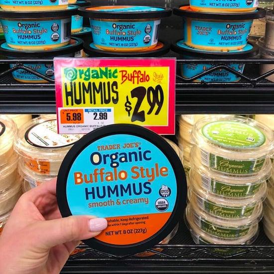 Buffalo Style Hummus at Trader Joes