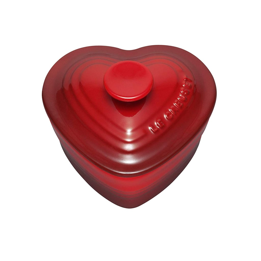 Le Creuset Stoneware Heart Ramekin With Cover