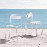 Outdoor Metal Stacking Chair