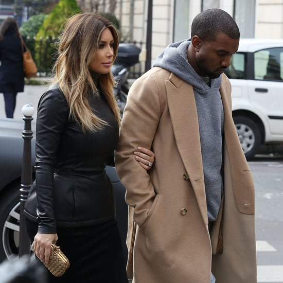 Kim Kardashian and Kanye West in Europe | Pictures